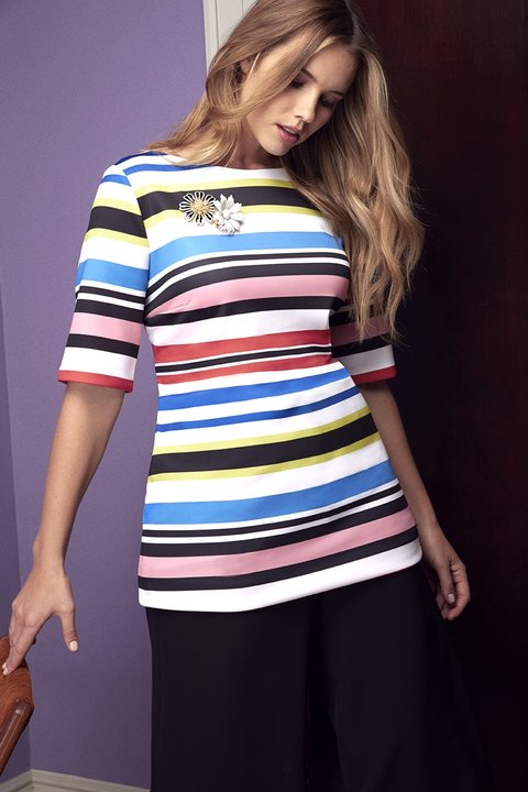 Eloquii Native Horizontal Stripes