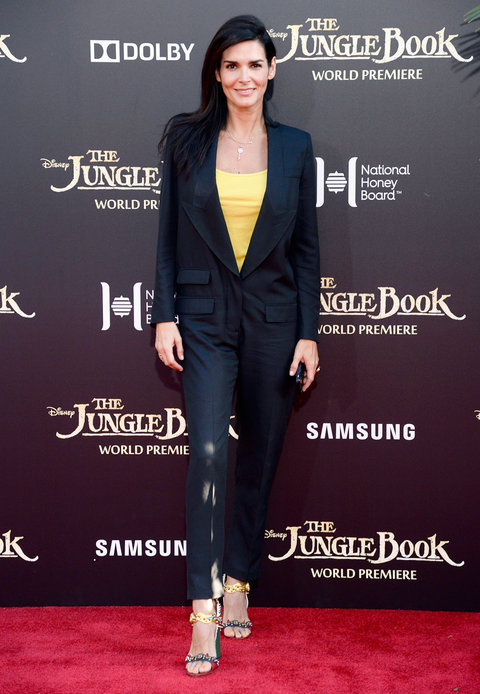 The Jungle Book Premiere Angie Harmon - Embed 2016