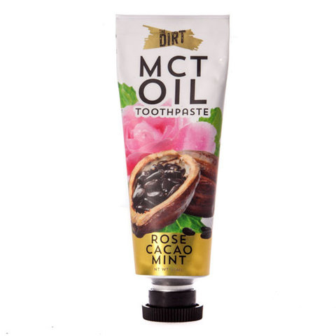 Rose Cacao Mint MCT Oil Toothpaste