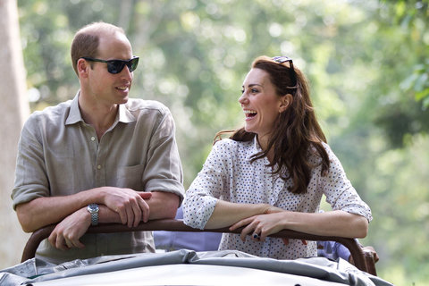 William, Kate set for a day out at the Kaziranga