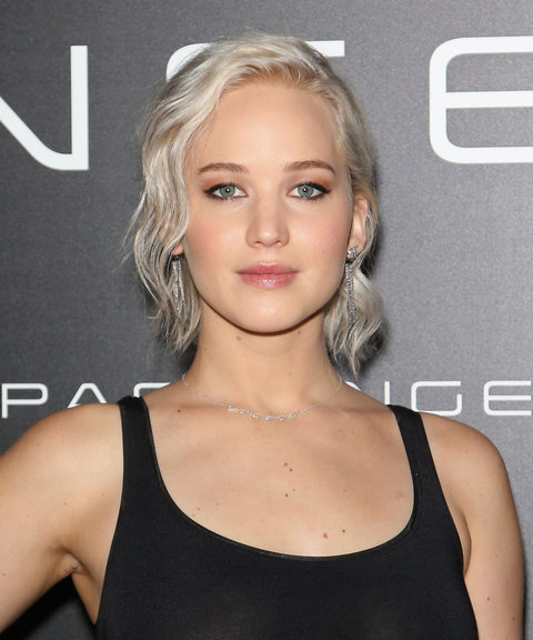 Jennifer Lawrence Ice Blonde Front