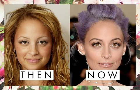 Nicole Richie's Eyebrows Then and Now