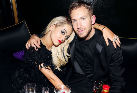 Rita Ora and Calvin Harris