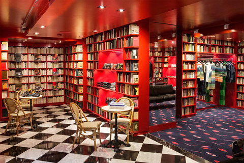 Sonia Rykiel Opens Amazingly Bookish Boutique