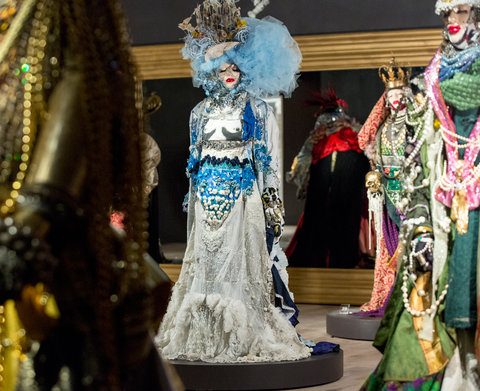 "SCAD Atlanta – Winter 2016 – Exhibitions – ""Be Yourself; Everyone Else is Already Taken"" – Daniel Lismore – Behind The Scenes and Installation – SCAD Fash – Vogue Exclusive - Photography by Raftermen"