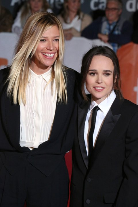 Ellen Page and Her Girlfriend
