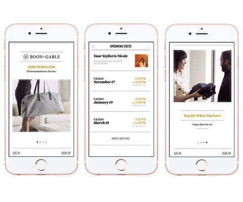 Stylist App Boon & Gable - Embed 2016