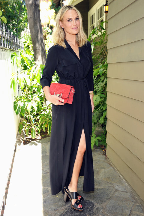 Tod's Baby2Baby Event Molly Sims - Embed 2016