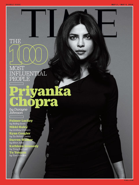 Time 100 - Priyanka Chopra
