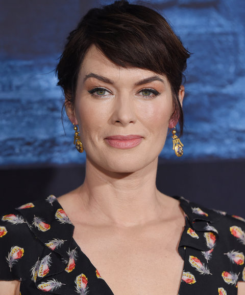 Lena Headey Is As Crafty In The Styling Chair As She Is On