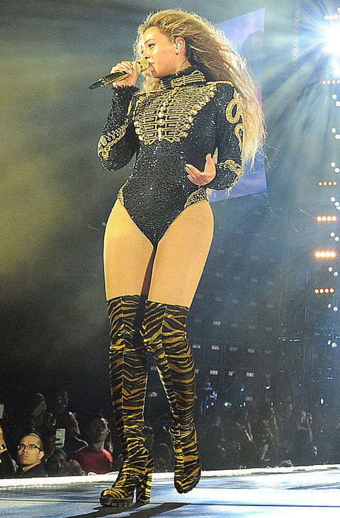 Beyonce Tour Outfits 1