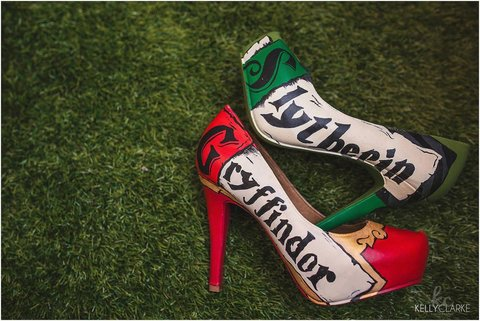 Harry Potter Themed Wedding Heels