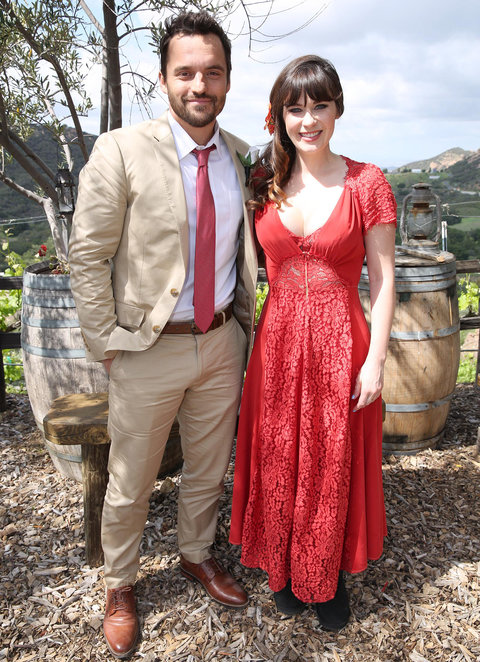The gallery for zooey deschanel wedding for Zooey deschanel wedding dress