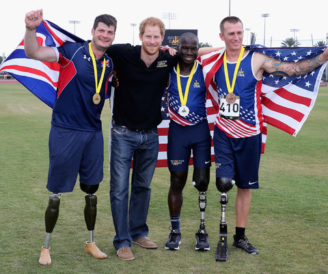 Prince Harry Invictus Games 2 - Embed 2016