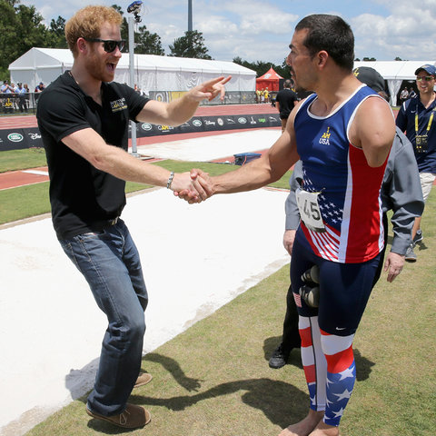 Prince Harry Invictus Games 4 - Embed 2016