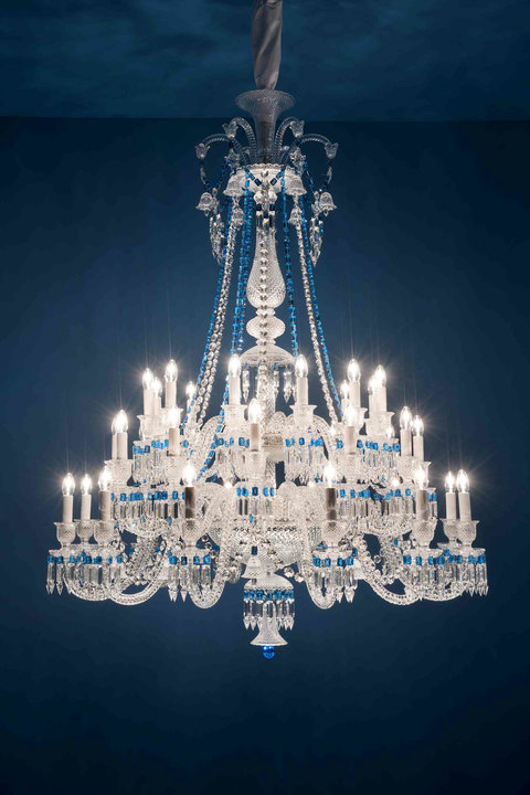 Baccarat Chandeliers - LEAD