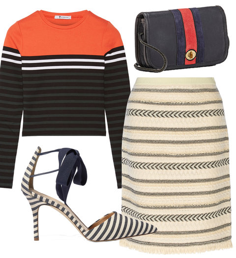 Wake Up Work Wardrobe with Stripes - Embed 2016