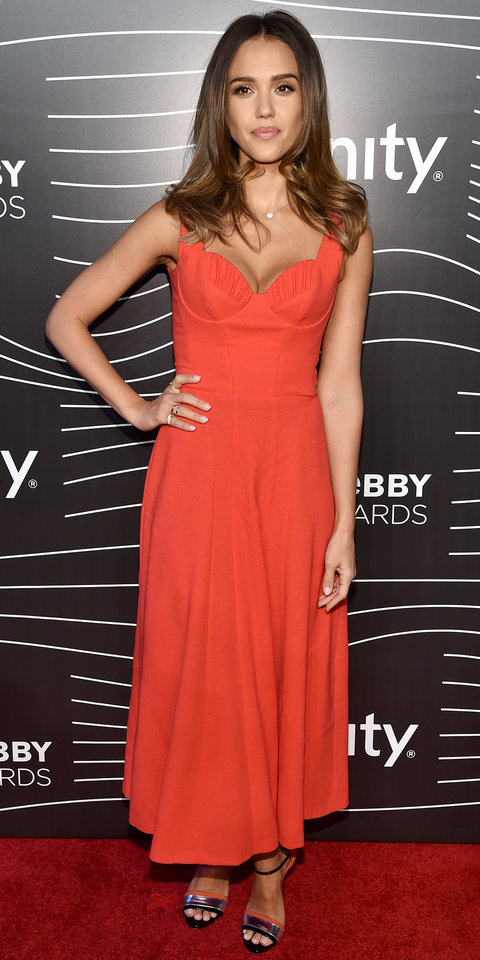 Actress Jessica Alba attends the 20th Annual Webby Awards at Cipriani Wall Street on May 16, 2016 in New York City.