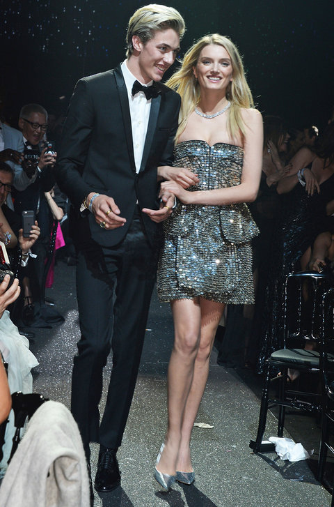 <p>Lily Donaldson and Lucky Blue</p>