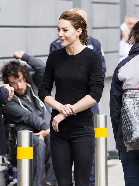 Kate Middleton was seen heading back to London after an afternoon spent sailing in Portsmouth, England on May 20, 2016.