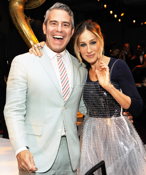 Sarah Jessica Parker Andy Cohen - Embed 2016