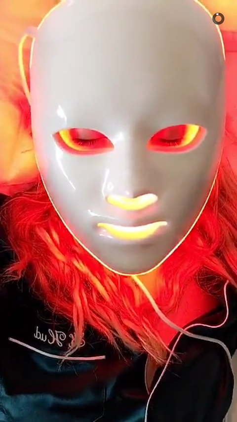 Kate Hudson Led Light Therapy Face Mask Kate Hudson