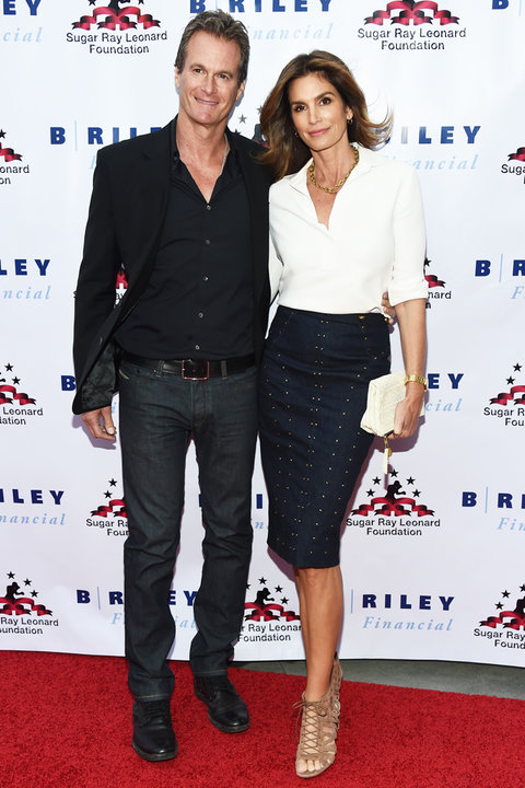 Cindy Crawford Rande Gerber Charity Boxing Night - Embed 2016