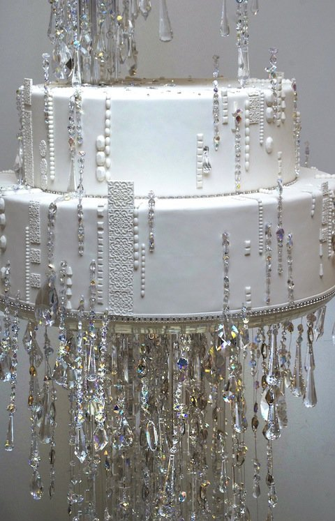 Sex and the City Chandelier Wedding Cake Ron BenIsrael – Cake Chandelier