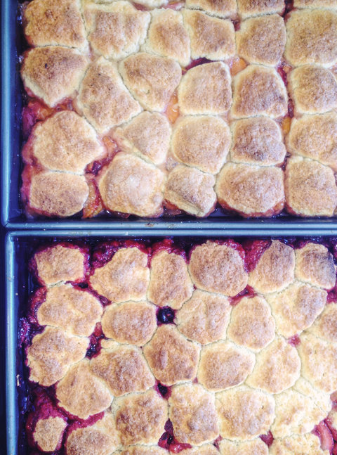 Peach Cobbler Recipe Embed