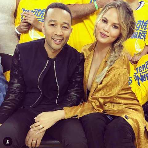 Chrissy Teigen - John Legend - NBA - embed 2