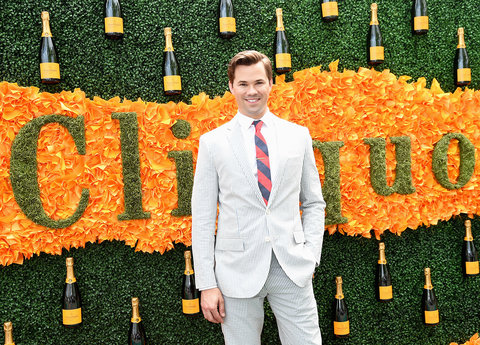 JERSEY CITY, NJ - JUNE 04:  Actor Andrew Rannells attends the Ninth Annual Veuve Clicquot Polo Classic at Liberty State Park on June 4, 2016 in Jersey City, New Jersey.  (Photo by Jamie McCarthy/Getty Images for Veuve Clicquot)