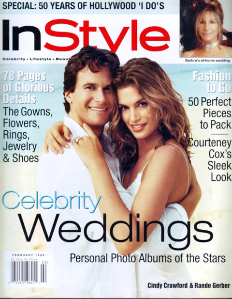Celebrity Beach Weddings Instyle