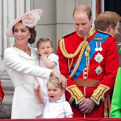 Royal Family Trooping the Colour 1 - Embed 2016