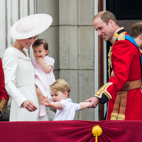 Royal Family Trooping the Colour 4 - Embed 2016