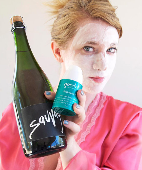 Face Mask Wine Pairing