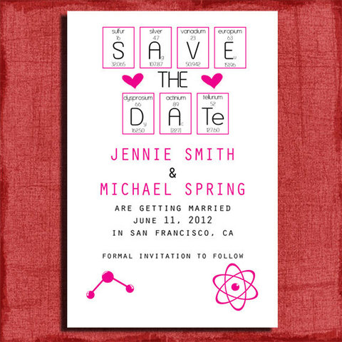 Nerdy Wedding Invites to Shop Now — Cool Geek Wedding ...