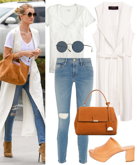 White Tee Styling  2