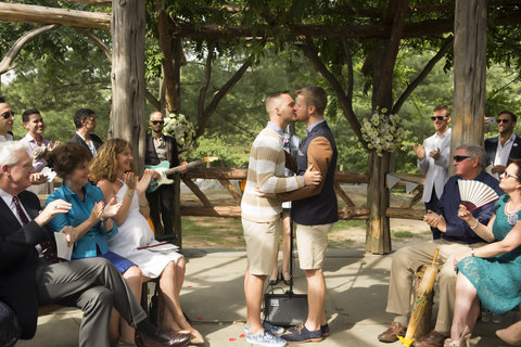Ian Sklarsky Parker and Dakin Parker's IRL Same-Sex Wedding