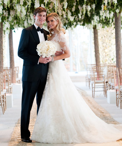<p>Ivanka Trump and Jared Kushner (2009)</p>