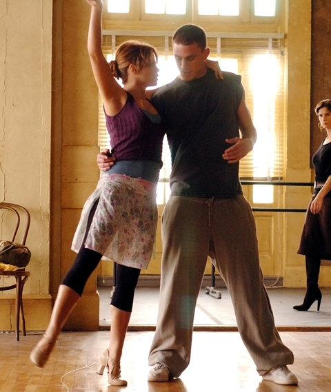 Channing and Jenna Dewan Tatum in Step Up
