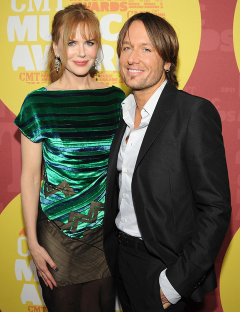 Actress Nicole Kidman and musician Keith Urban attend the 2011 CMT Music Awards at the Bridgestone Arena on June 8, 2011 in Nashville, Tennessee.