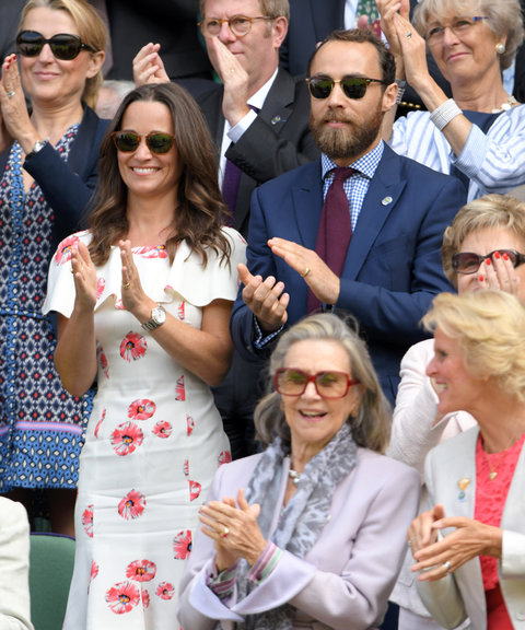 Pippa Middleton James Middleton Wimbledon - Embed 2016