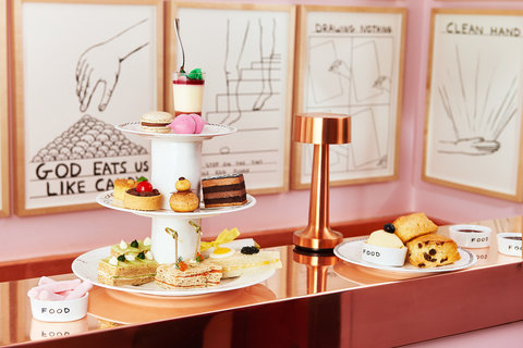 London Afternoon Tea - Embed