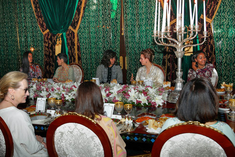 Michelle Obama Morocco - Embed 2