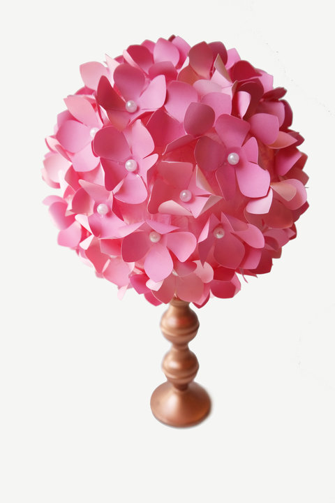 Paper Flower DIY Centerpiece Full Bouquet Embed