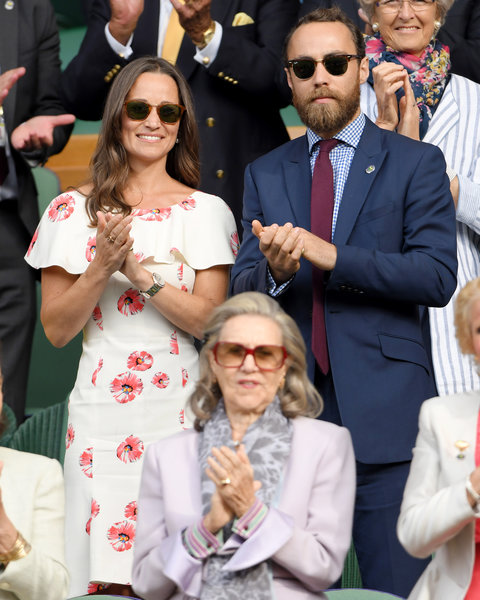 Pippa and James Middleton, 2016
