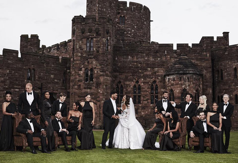Ciara and Russell Wilson Wedding Party