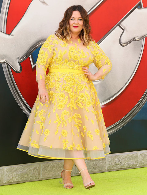 HOLLYWOOD, CA - JULY 09: Melissa McCarthy attends the premiere of Sony Pictures' 'Ghostbusters' on July 9, 2016 in Hollywood, California.(Photo by JB Lacroix/WireImage)
