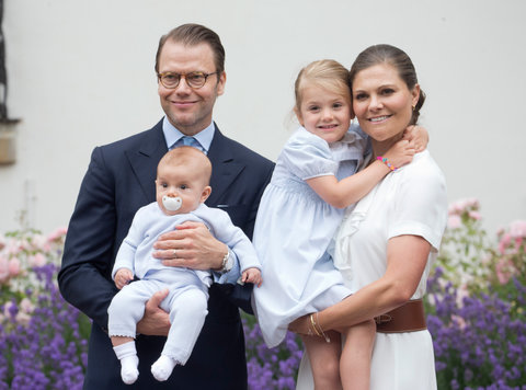 Prince Oscar and Princess Estelle