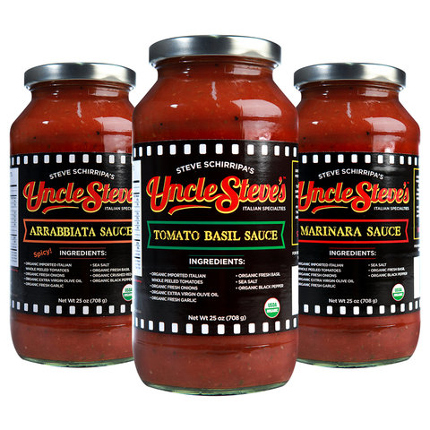 Store Bought Tomato Sauce - Uncle Steve's